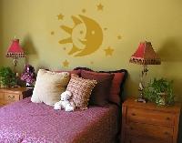 WandTattoo No.NH22 Sonne Mond