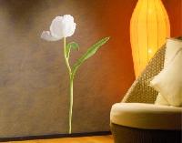 WandTattoo No.SB33 Weiße Tulpe
