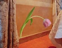 WandTattoo No.SB38 Rosa Tulpe