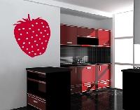 WandTattoo No.UL285 Erdbeere