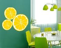 WandTattoo No.UL610 Zitronenscheiben