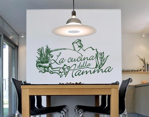 Wandtattoo Cucina Della Mamma