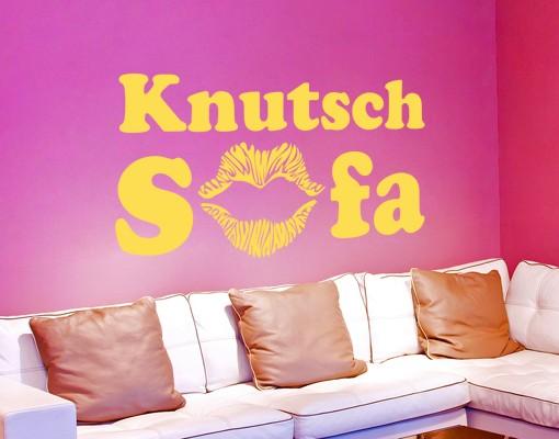 Wandtattoo KnutschSofa