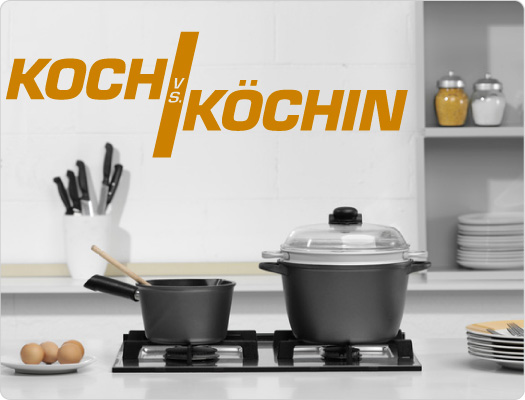 Wandtattoo Koch vs. Köchin