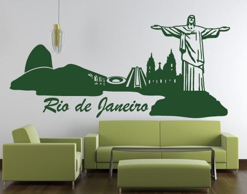 Wandtattoo Rio de Janeiro