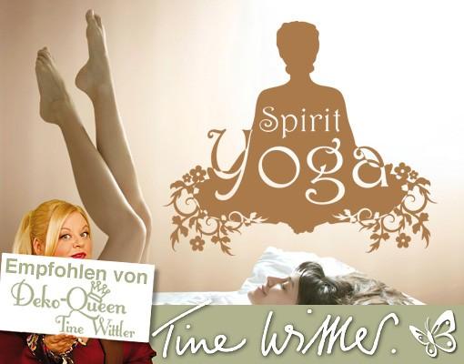 Wandtattoo Spirit Yoga
