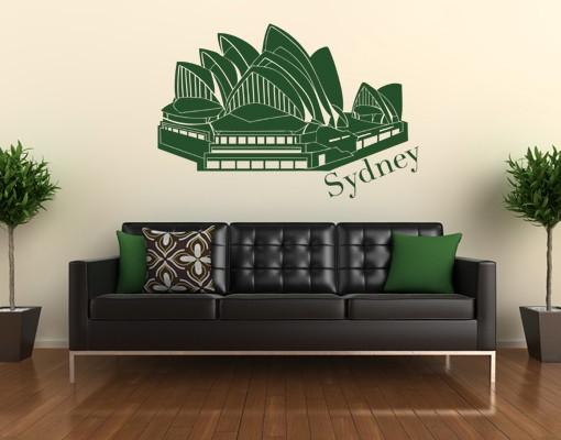 Wandtattoo Sydney-Oper