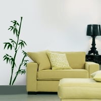 Wandtattoo - Zwei Bambus
