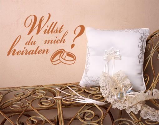 Wandtattoo ...heiraten?