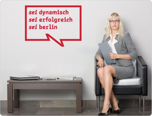 be Berlin Wandtattoo (Leben 3)
