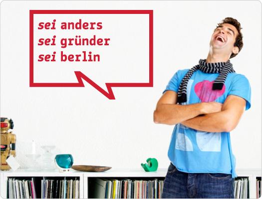 be Berlin Wandtattoo (Wirtschaft 1)